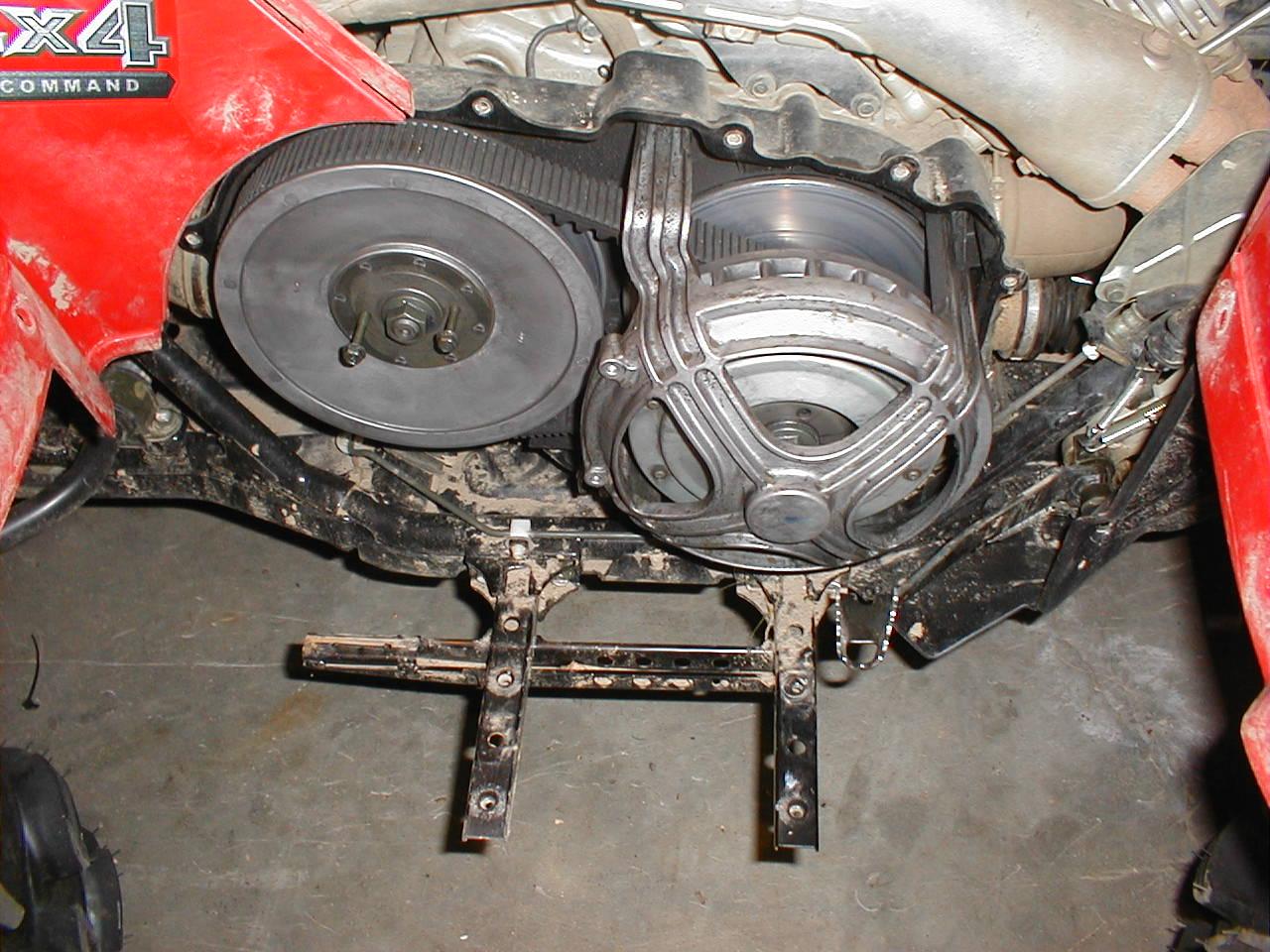 P on Yamaha Grizzly 660 Atv