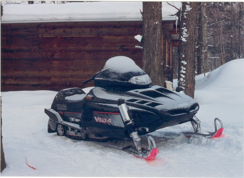Yamaha Vmax Snowmobile Cover