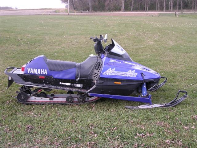 Yamaha Snowmobile Mods