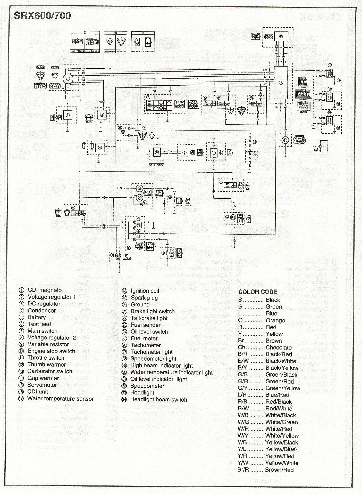 Snowmobile Voltage Regulator Wiring Diagram : Polaris voltage regulator wiring diagram get free image