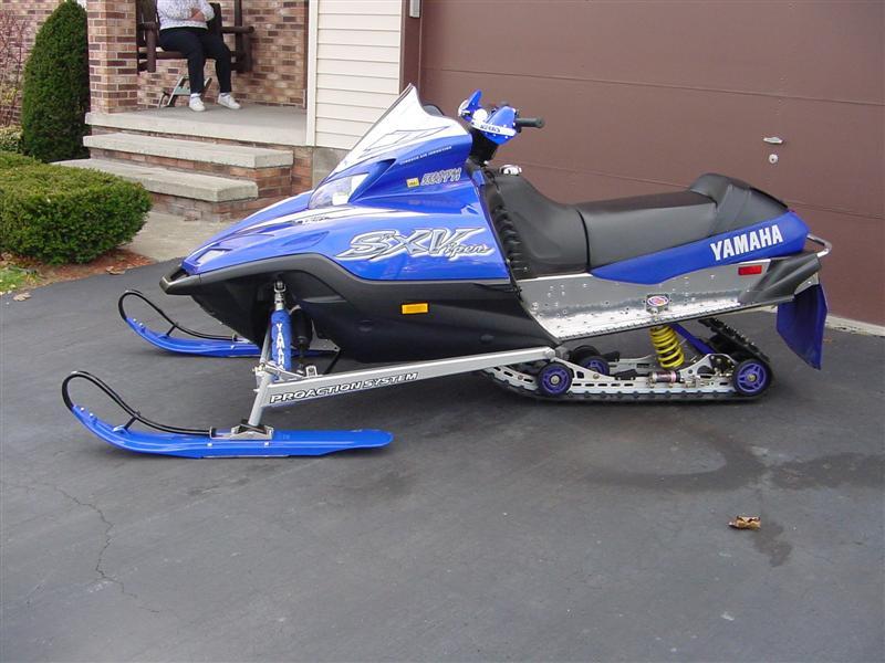 Yamaha Snowmobile Shock Covers