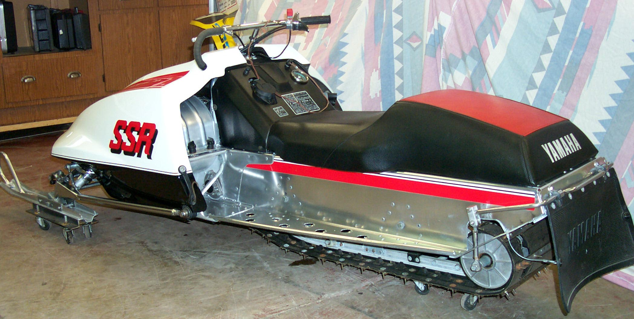 What Year Was The Yamaha Warrior Made