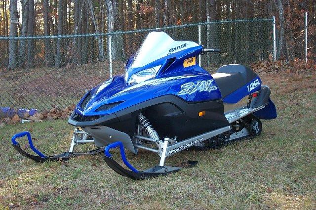 Yamiblue for Yamaha sx viper windshield